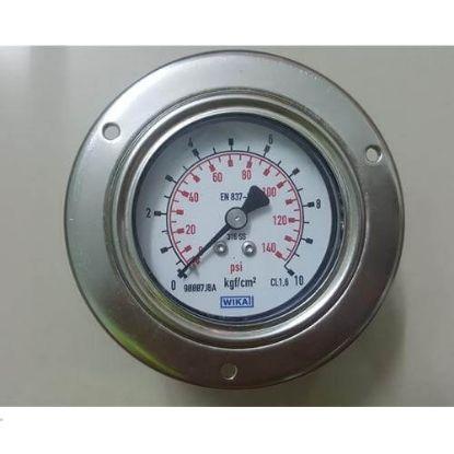 Picture of  Đồng hồ áp suất WIKA 232.50.63 chân sau 10bar