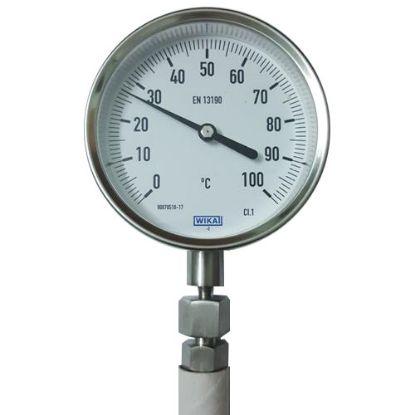 Picture of Đồng hồ đo nhiệt độ WIKA chân đứng R52 100°C