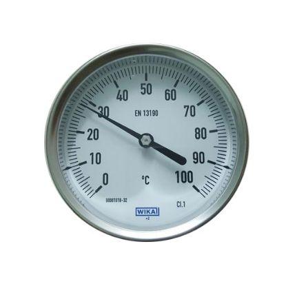 Picture of Đồng hồ đo nhiệt độ WIKA chân sau A52 100°C