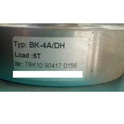 Picture of Loadcell BK-4A/DH (Load 20000N)