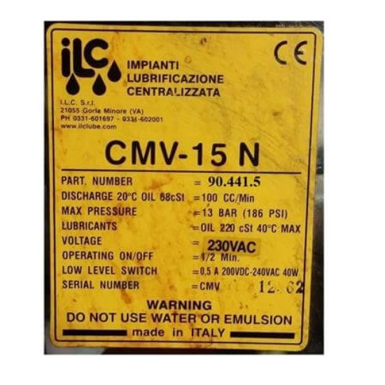 Picture of Bơm dầu ilclube CMV-15N